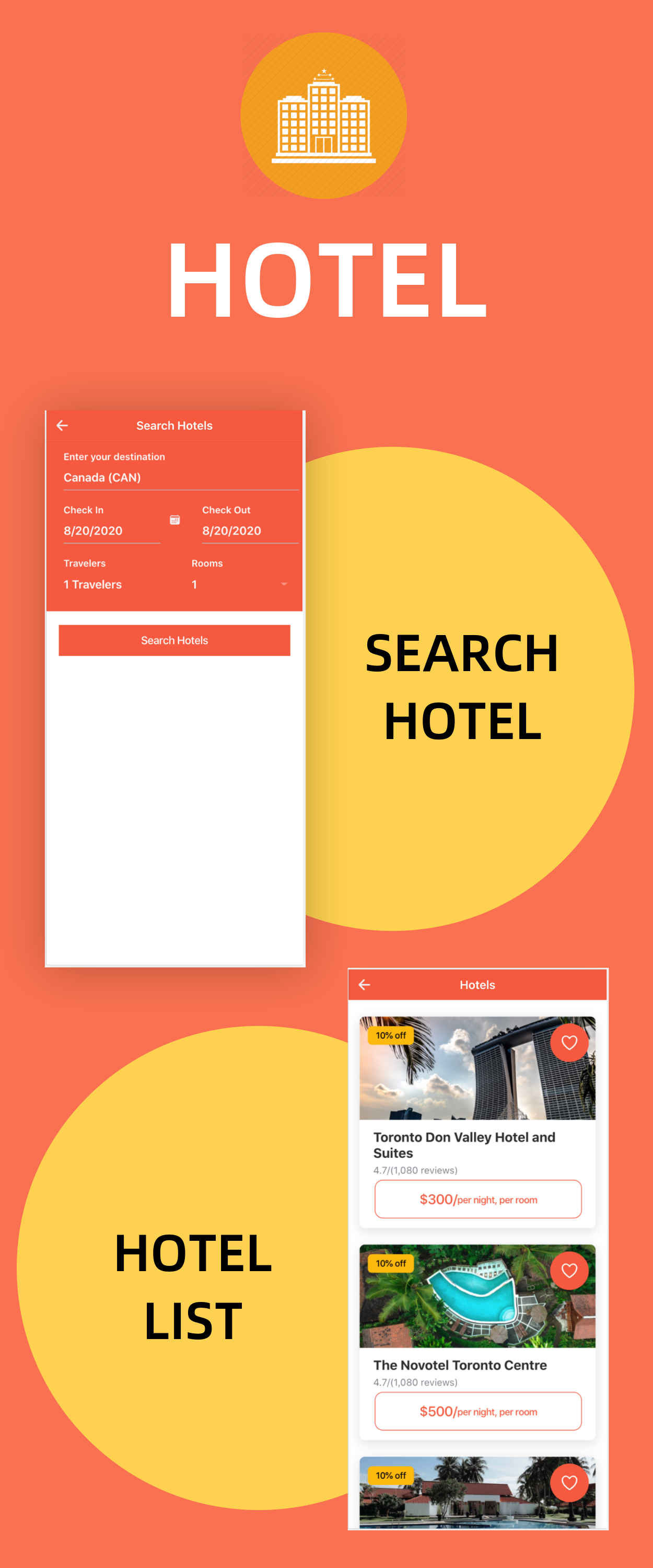 TravelEasy - A Travel Agency Theme UI App By Ionic 5 (Car, Hotel, Flight Booking) - 7