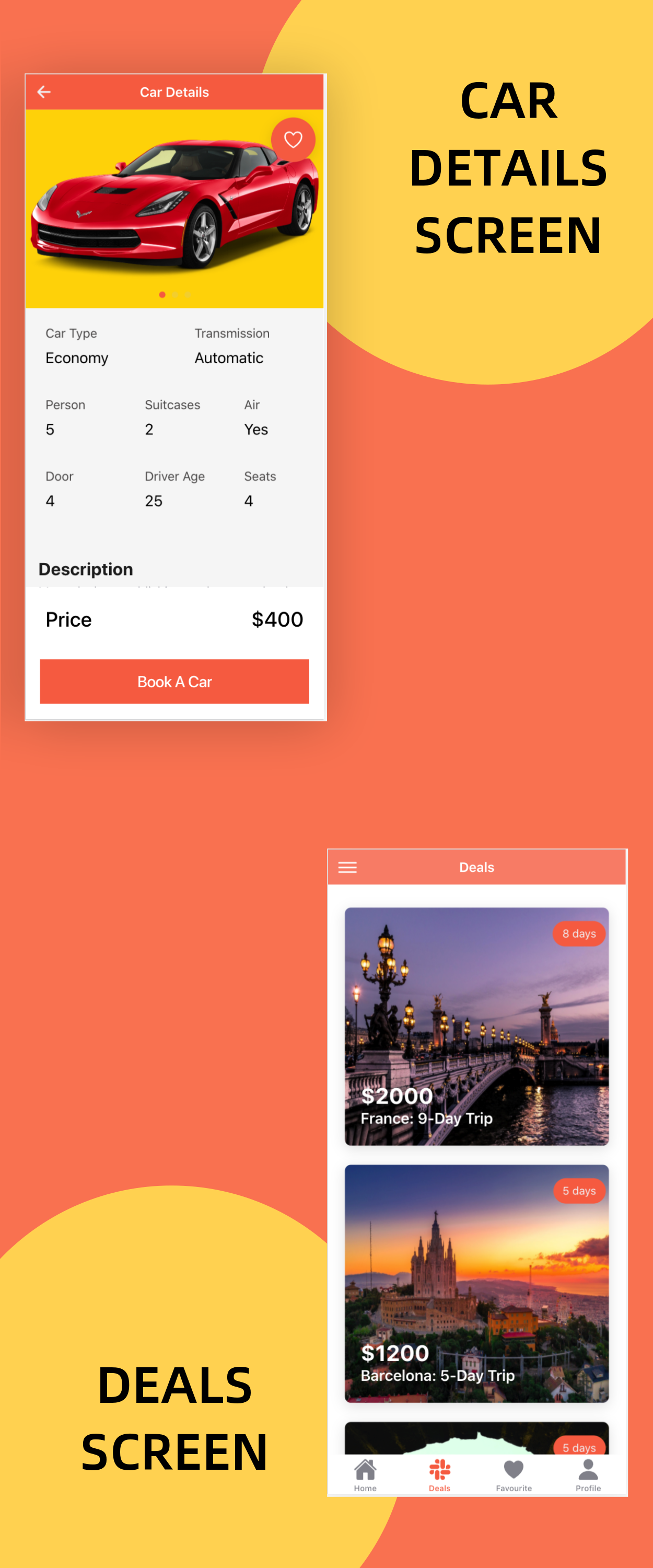 TravelEasy - A Travel Agency Theme UI App By Ionic 5 (Car, Hotel, Flight Booking) - 10