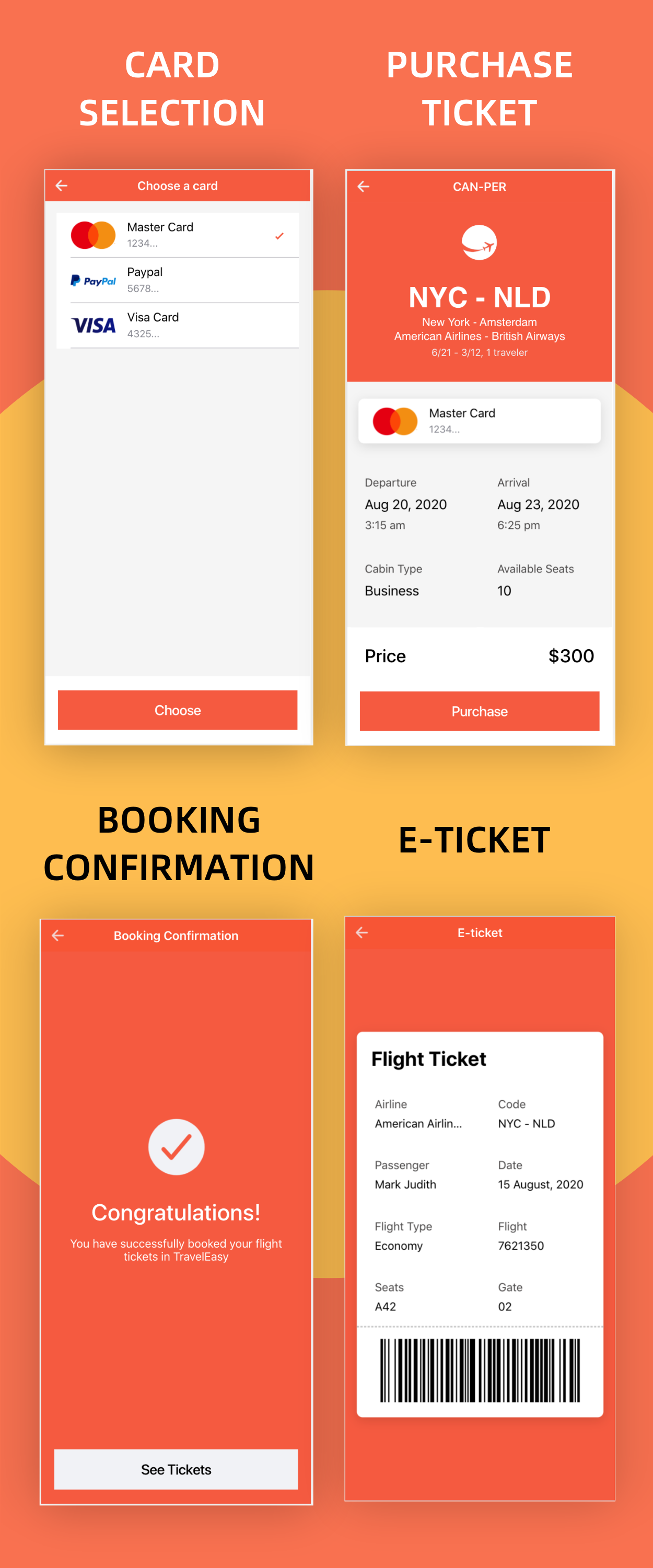TravelEasy - A Travel Agency Theme UI App By Ionic 5 (Car, Hotel, Flight Booking) - 11